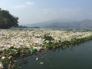 La contaminación es evidente