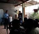 Entrega de Ecofiltros en la Comunidad de Zet